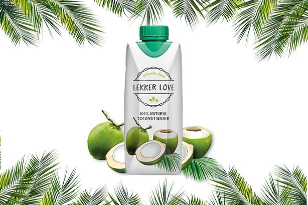 Lekker Love Kokoswasser